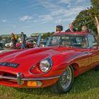 Jaguar E Type - Goodwood Carpark