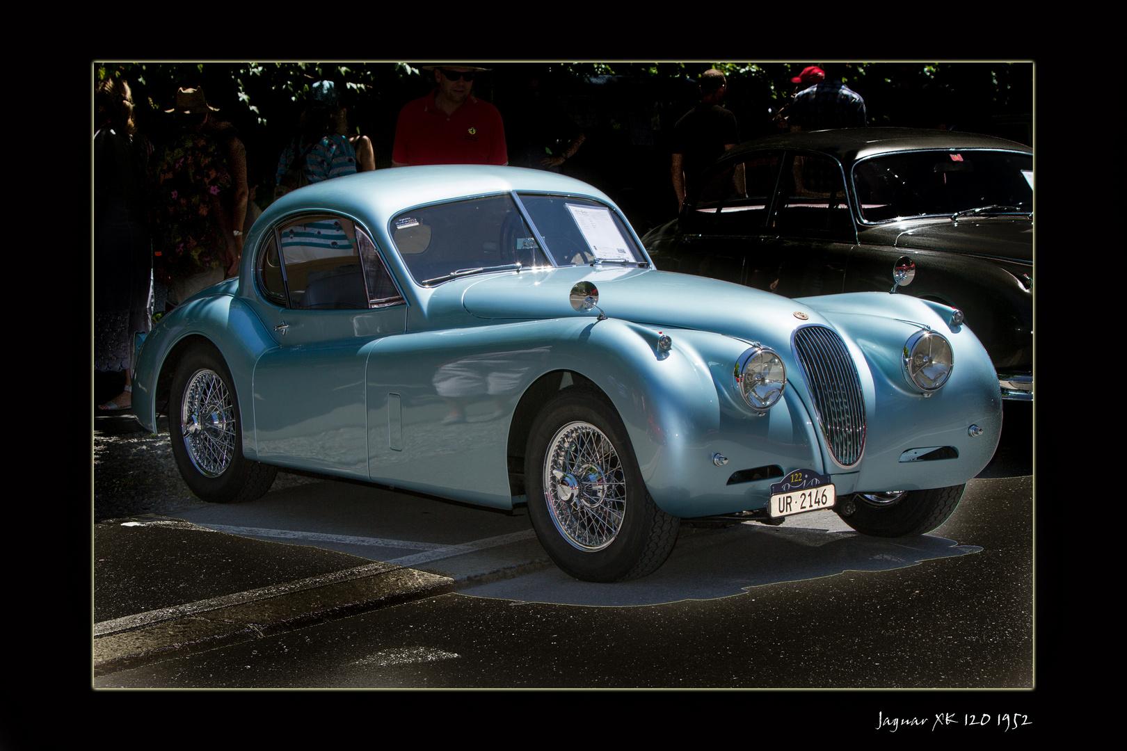 Jaguar XK 120 1952