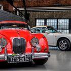 Jaguar XK + Porsche 911