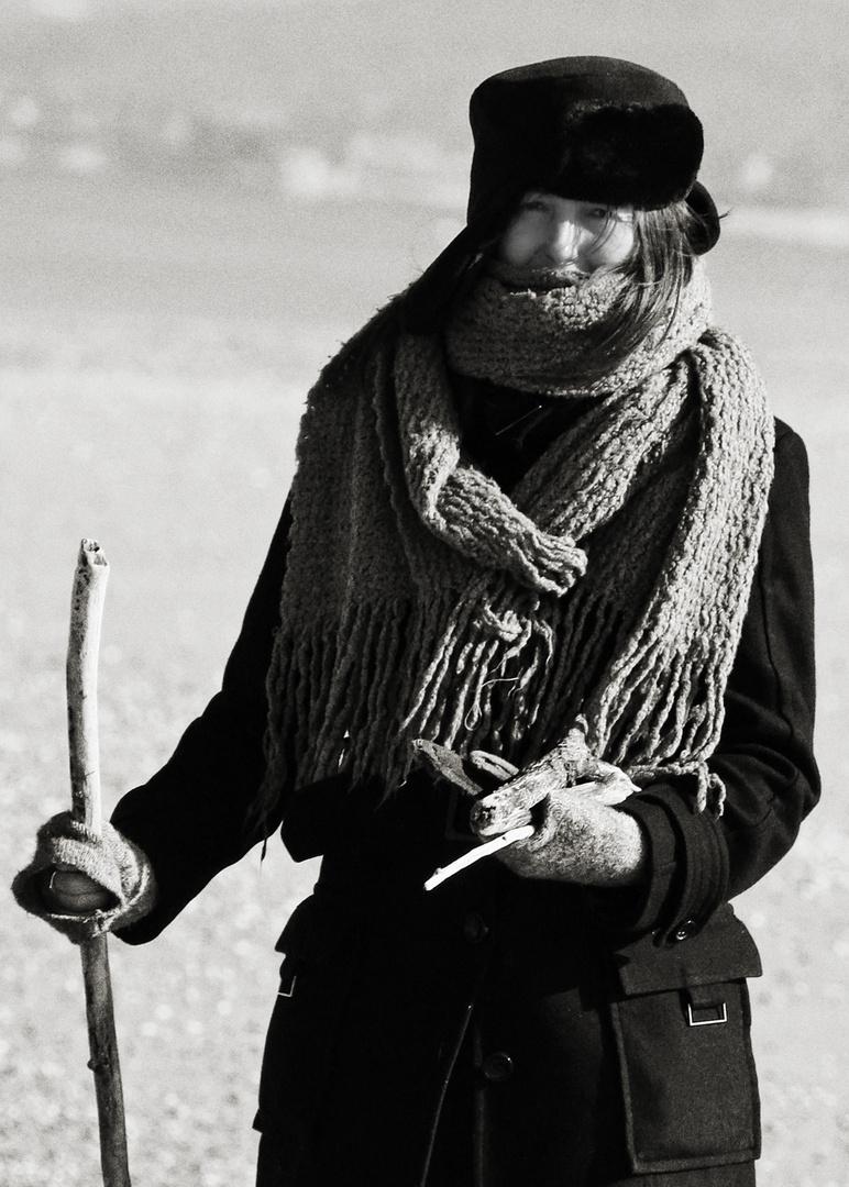j'ai rencontré la gardienne des dunes