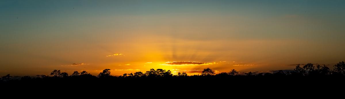 J'aime, j'aime ces couchers de soleil
