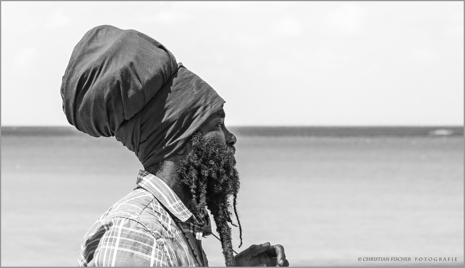 Jamaikanischer Strand-Spaziergänger..