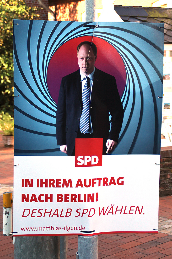 James Bond goes Bundestag?