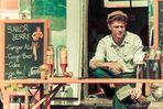 James Dean als Barkeeper - Kustom Kultur 2013