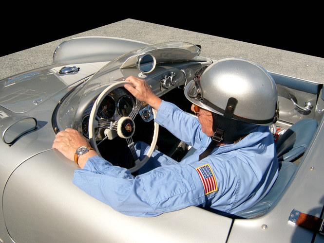 """""""James Dean """" ...im Porsche 550 Spyder"""