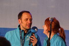 Jan Bastik und Mandy Schmidt
