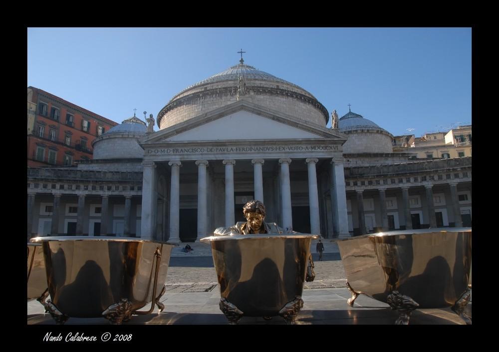 Jan Fabre - Piazza del Plebiscito 2008 - Napoli -