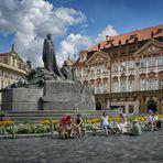 Jan Hus Denkmal Jugendstil - Prag -