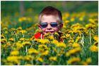 Jan im Blumenmeer