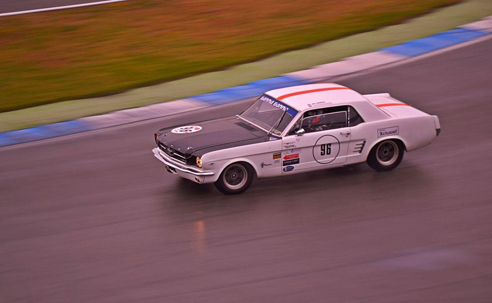 Jan Lammers im 65er Mustang