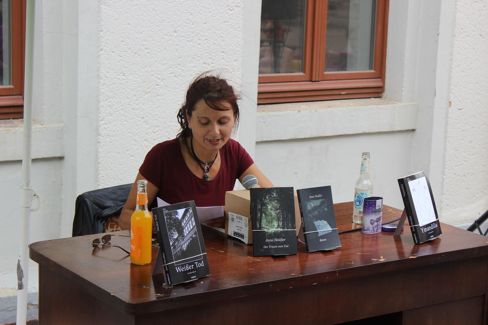Jana Heidler liest bei den Chemnitzer Kulturtagen