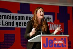 Janine Wissler in Köln