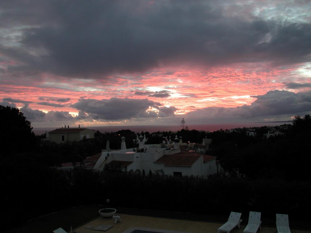 Januarabend Algarve