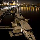 Januarabend in Dresden