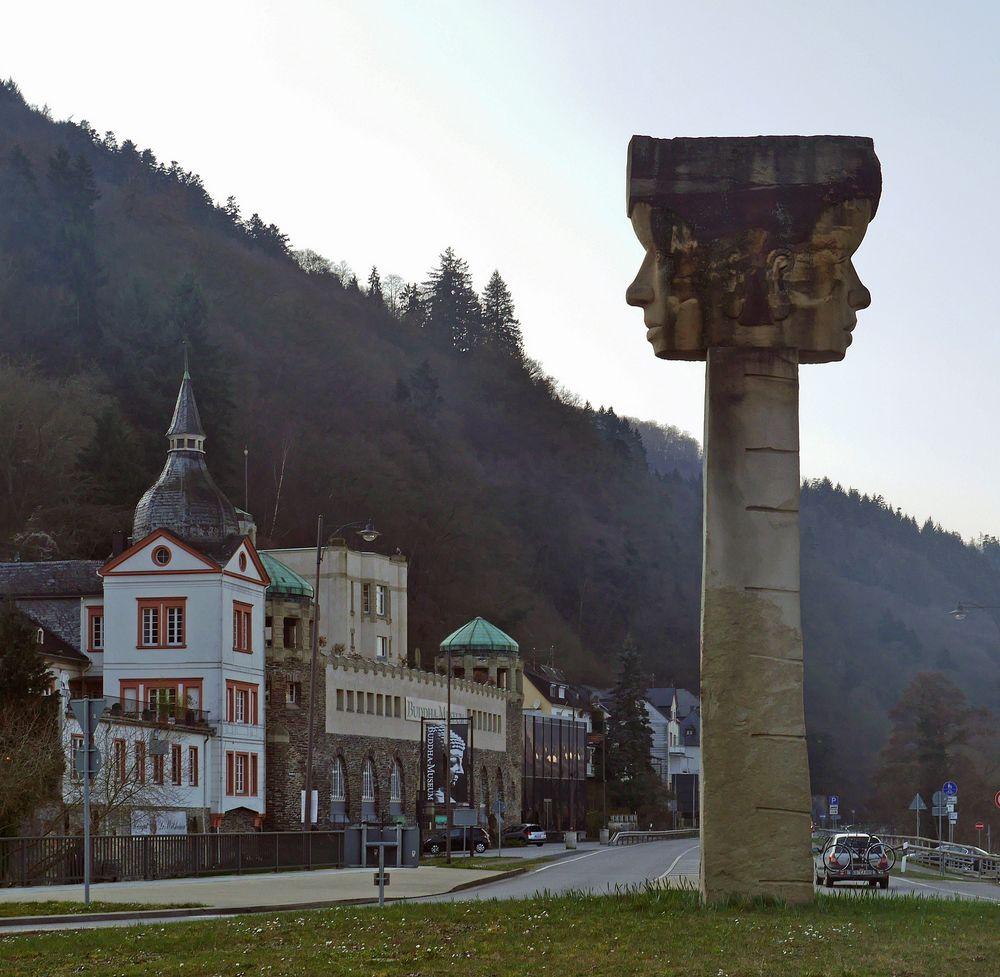Janus in Trarbach ...