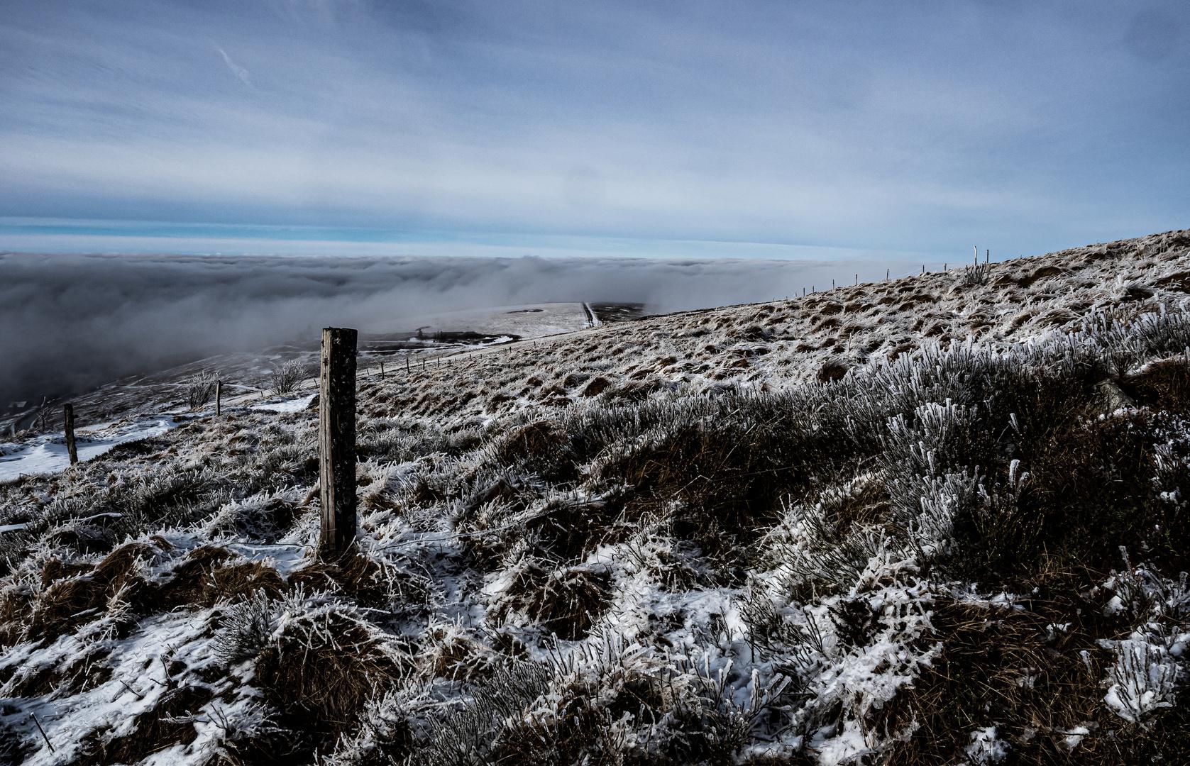 janvier en altitude dans les Vosges