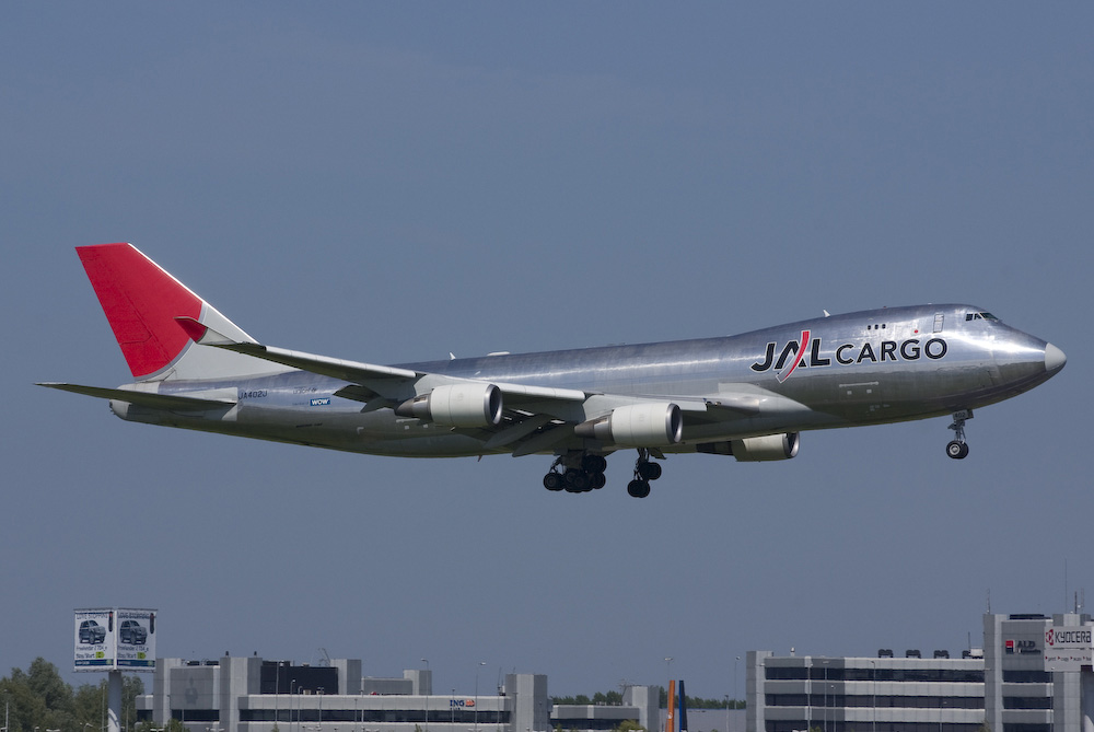 Japan Airlines - JAL Cargo - Boeing 747-446F/SCD