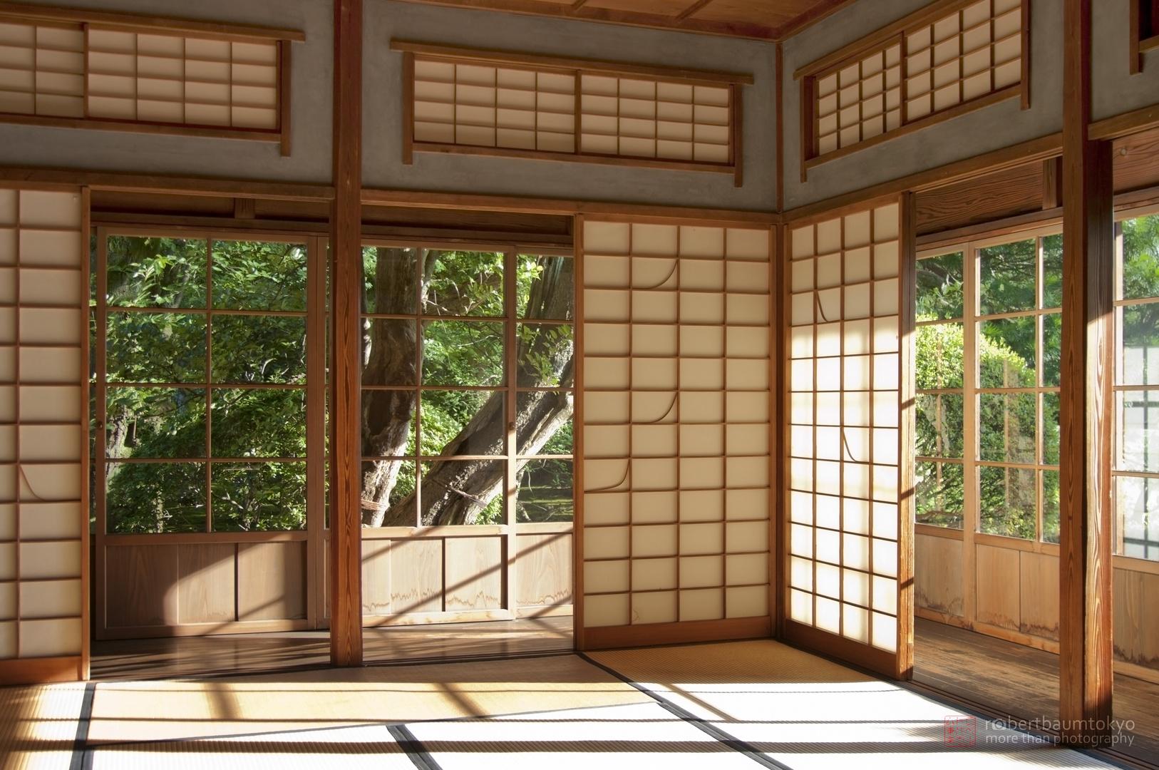 japanische architektur bauen mit licht und schatten foto. Black Bedroom Furniture Sets. Home Design Ideas