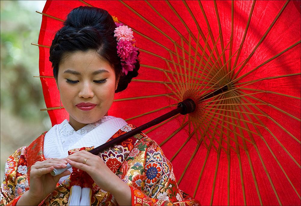Japanische Braut