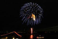 Japanische Feuerwerk-2 am 2. 6. 2007