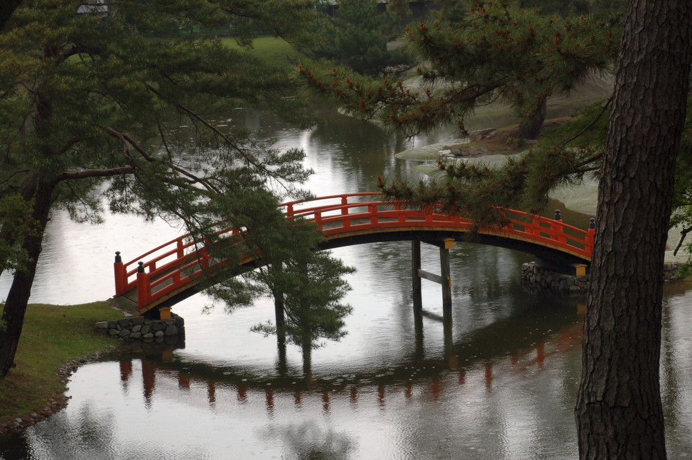 Japanische kunst im garten foto bild sthetik der for Japanische garten bilder