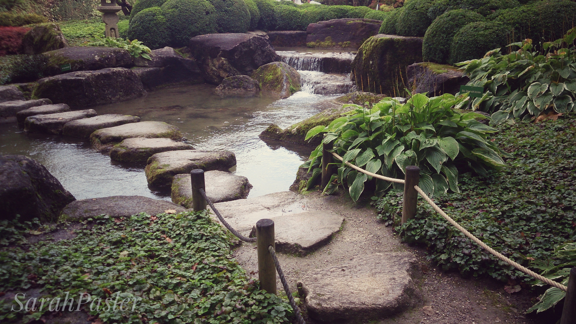 Japanischer Garten Augsburg Foto Bild Landschaft Bach Fluss