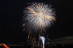 Japanisches Feuerwerk-1am 2. 6. 2007