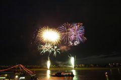 Japanisches Feuerwerk -3 - am 2. 6. 2007