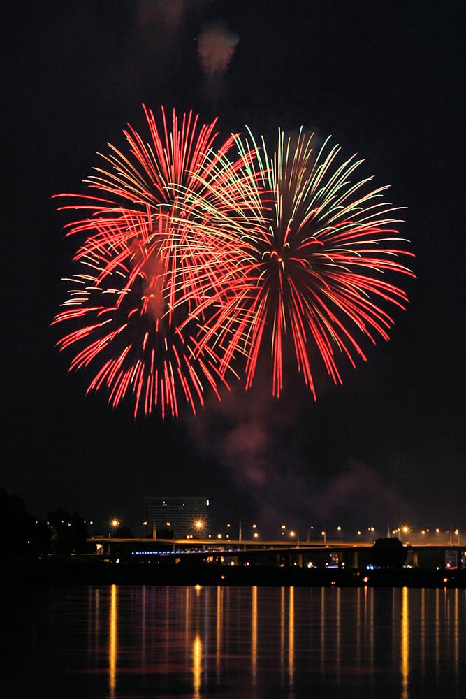 Japanisches Feuerwerk in Düsseldorf 3