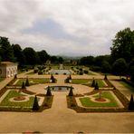 Jardin à la Française chez Edmond Rostan à Cambo