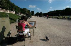 Jardin de Luxembourg - Wo man Kunst noch studieren kann