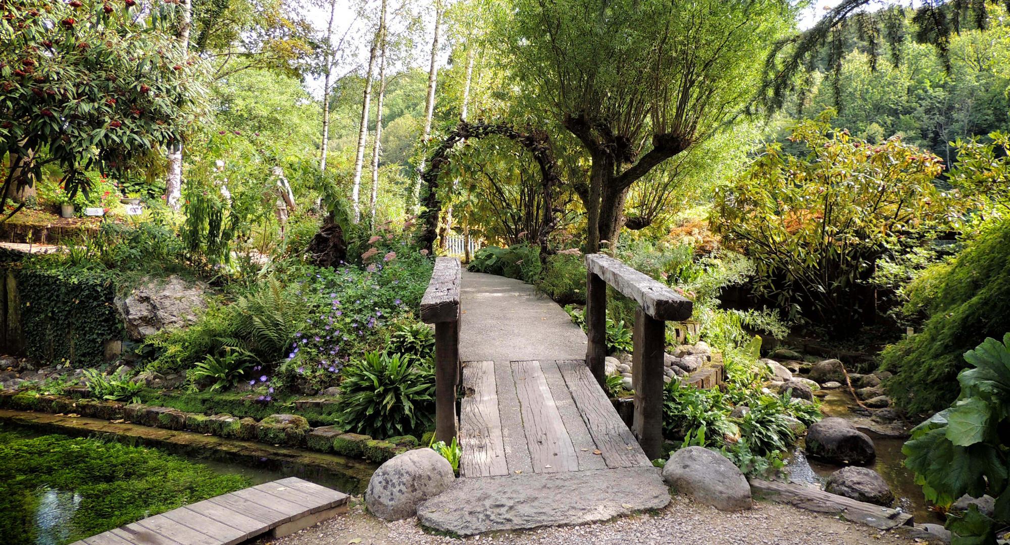 Jardin des cascades pétrifiantes