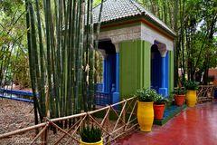 Jardin Majorelle - Pavillon