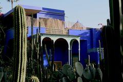 Jardin Majorelle von Yves Saint Laurent in Marrakech 1