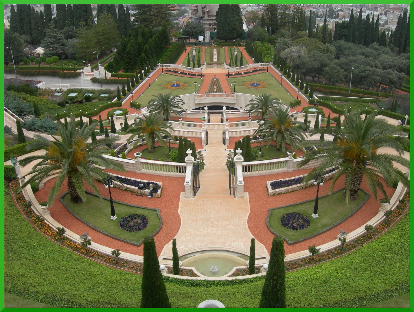 JARDINES BAHAIS DE HAIFA (ISRAEL)