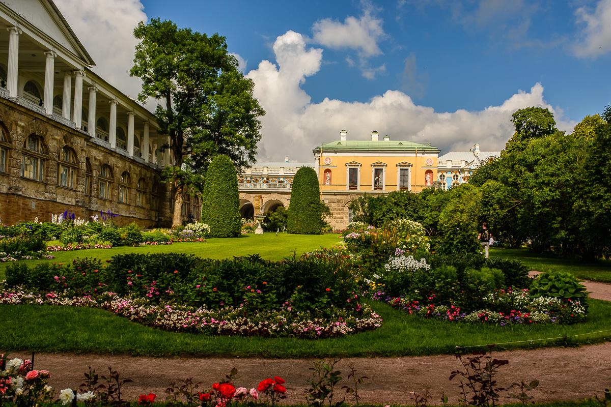Jardines en Palacio de Catalina