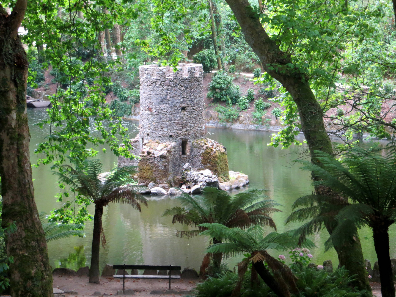 Jardins de Parque da Pena in Sintra ...