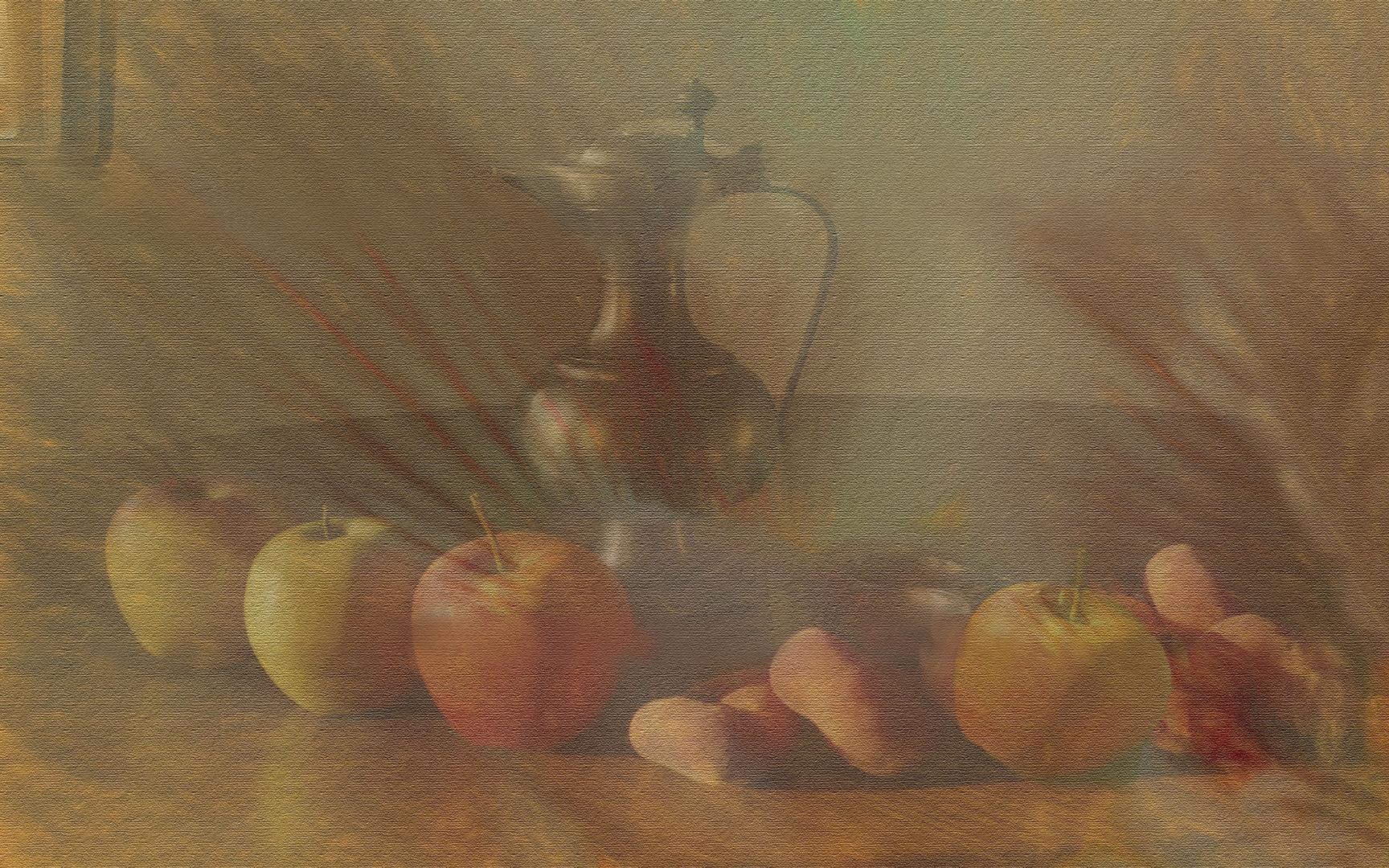 Jarra  y Frutas