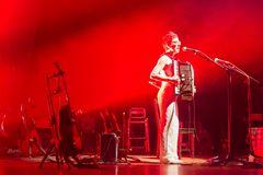 Jasmine Vegas on stage