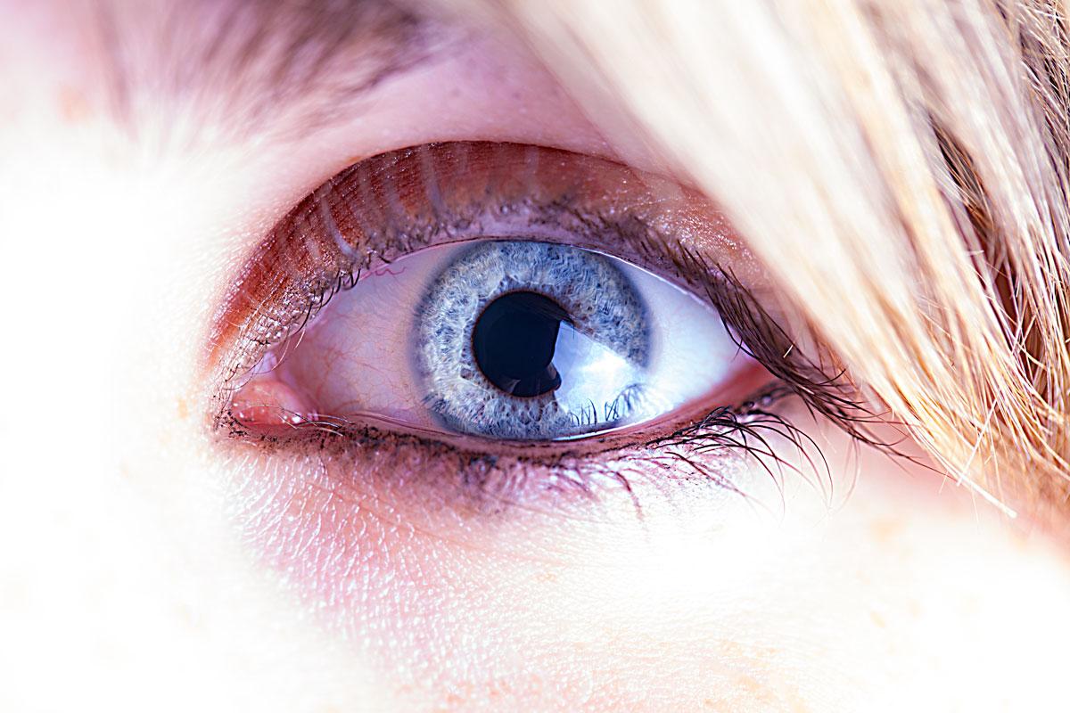 Jasmins Auge
