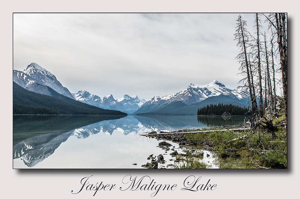 Jasper Maligne Lake