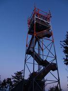 Javori mountains - outlook-tower