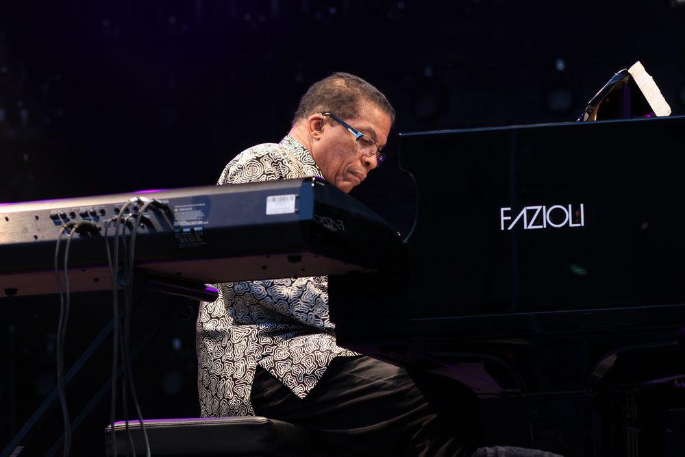 JAZZ Herbie Hancock Stgt jazzopen Ca-14-col Aktuell