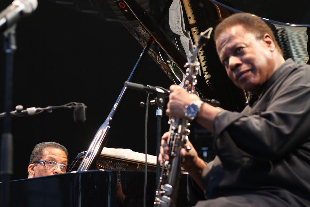 JAZZ Herbie Hancock + Wayne Shorter Stgt ca-14col Aug14 Jazzopen