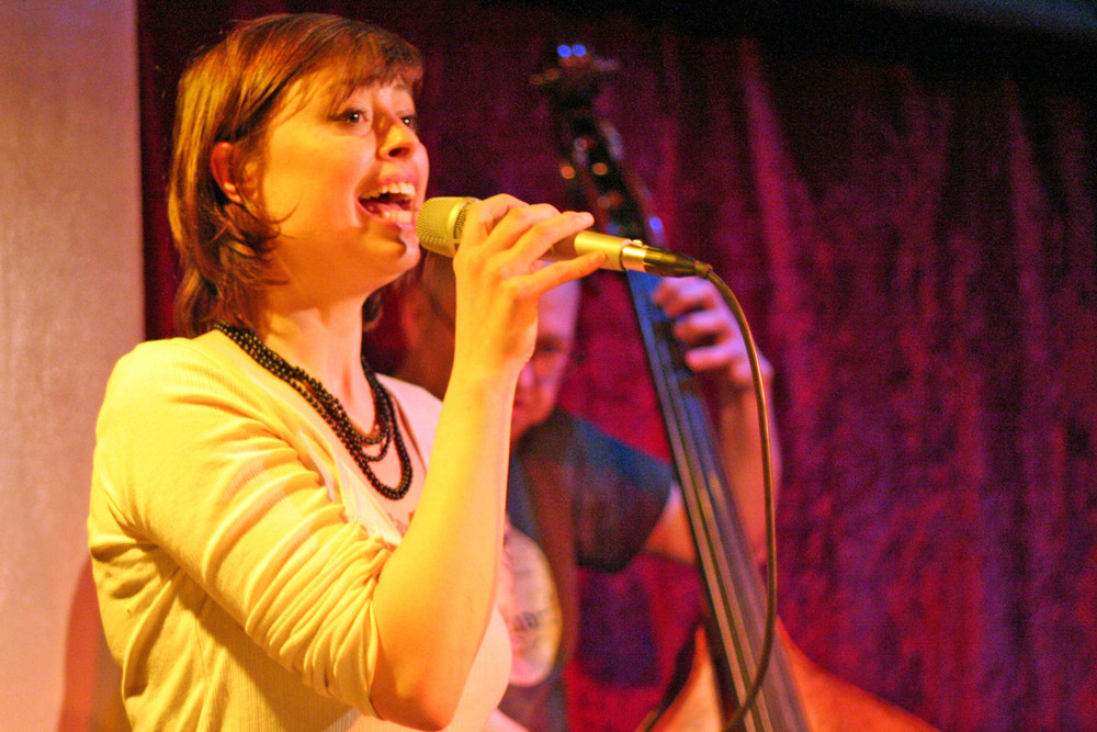 Jazz in Stuttgart KISTE: Sängerin Isabel Meisel