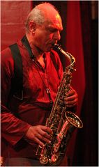 JAZZ  KISTE Club Blue Train Arne M. Sax Stuttgart Jul14