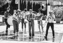 JAZZ Remstal Affenhitze+5Fotos Ca-19-93sw juni19 Jazzbus