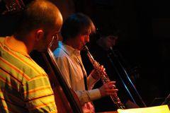 Jazz Stuttgart Jazztage 2009 Kiste - GM mit J.Lauer -color und SW