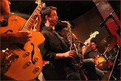JAZZ Stuttgart KISTE - der Schlagzeuger Daniel Messina