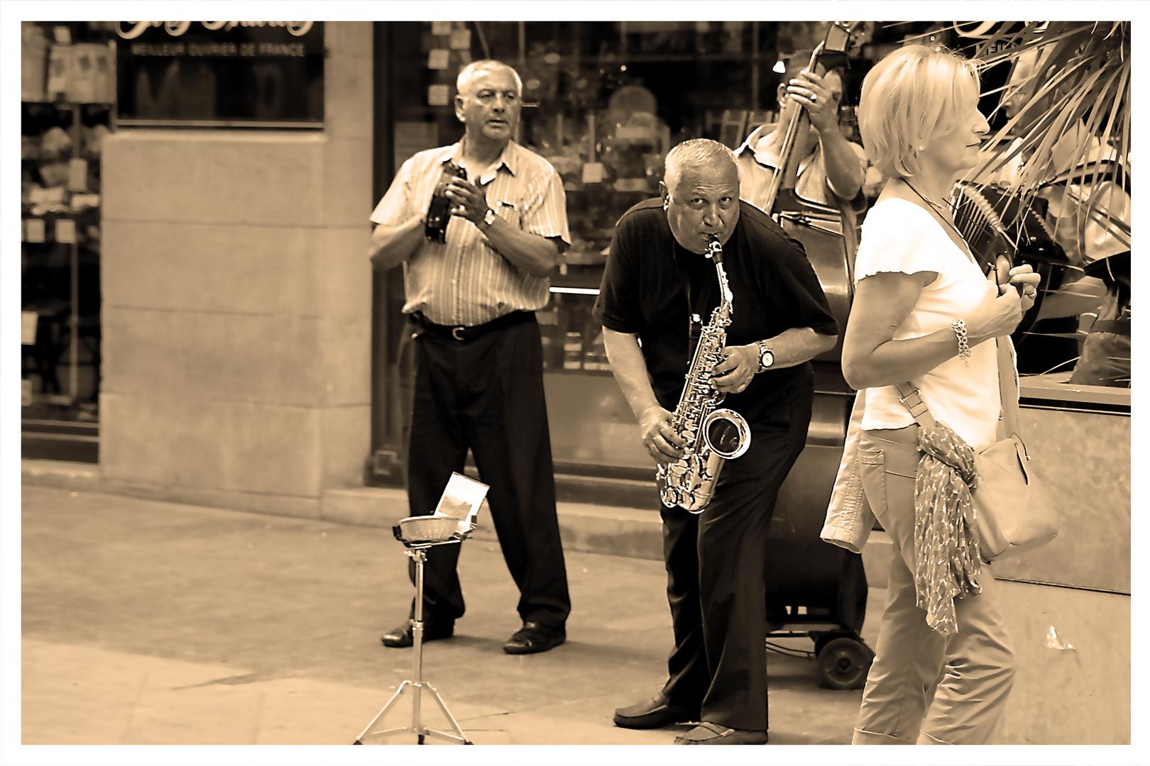Jazz sur la route